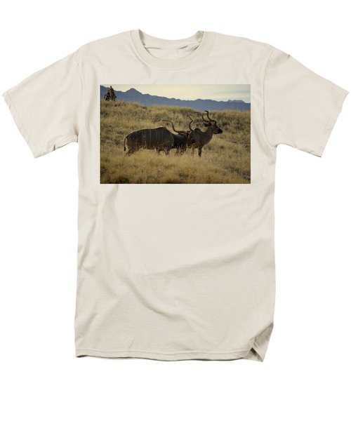 Men's T-Shirt  (Regular Fit) featuring the photograph Desert Palm Landscape by Guy Hoffman