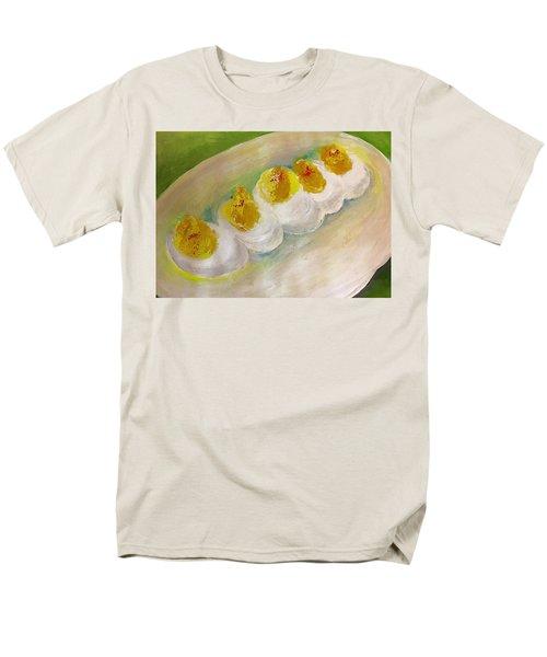 Devilled Eggs Men's T-Shirt  (Regular Fit) by Lisa Kaiser