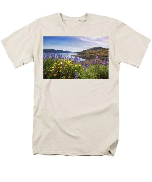 Diamond Valley Men's T-Shirt  (Regular Fit) by Tassanee Angiolillo