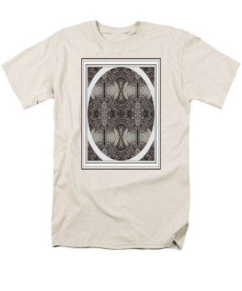 Digitized Ballpoint Image Twenty One Men's T-Shirt  (Regular Fit) by Jack Dillhunt