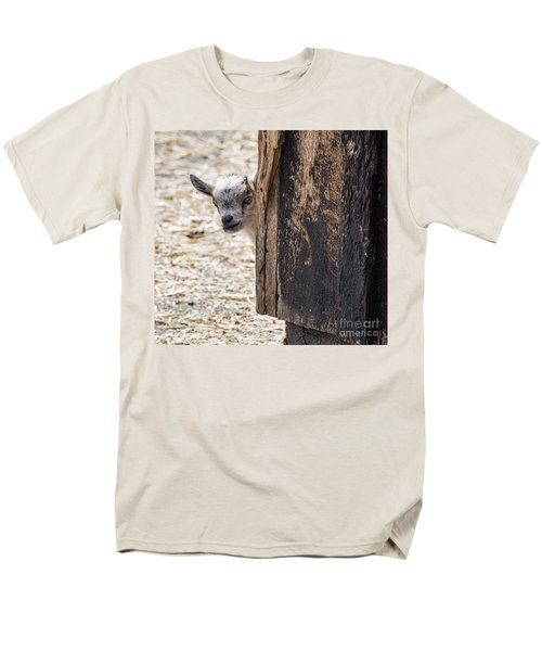 Do You Think Mom Saw Me Men's T-Shirt  (Regular Fit) by Judy Wolinsky