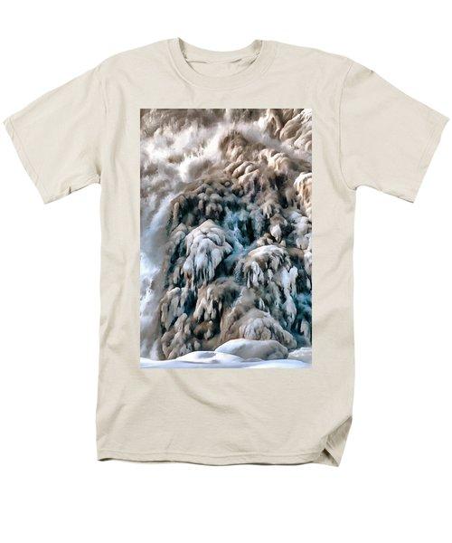 Dog Falls Men's T-Shirt  (Regular Fit) by Jim Proctor