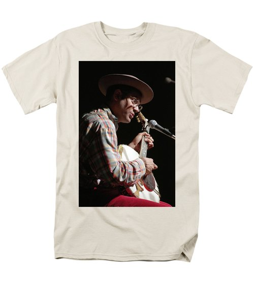 Dom Flemons Men's T-Shirt  (Regular Fit) by Jim Mathis