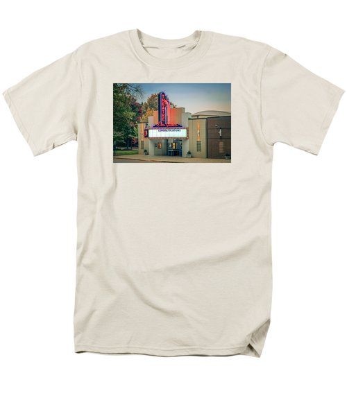 Men's T-Shirt  (Regular Fit) featuring the photograph Don Gibson Theatre by Marion Johnson