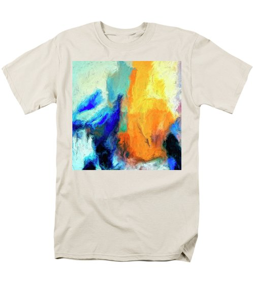 Men's T-Shirt  (Regular Fit) featuring the painting Don't Look Down by Dominic Piperata