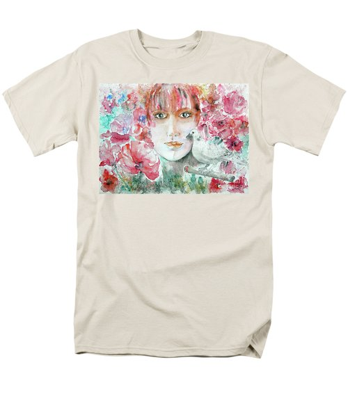 Dove Men's T-Shirt  (Regular Fit) by Jasna Dragun