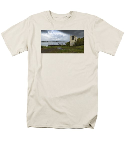 Men's T-Shirt  (Regular Fit) featuring the photograph Down By The River 01 by Kevin Chippindall