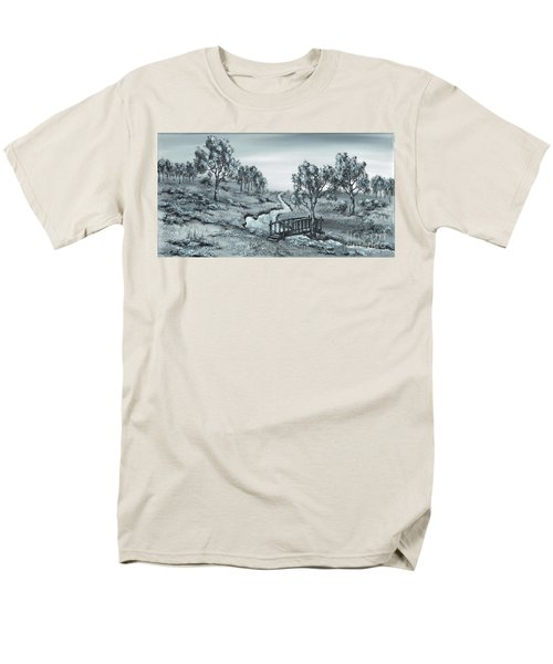 Down Stream Men's T-Shirt  (Regular Fit) by Kenneth Clarke