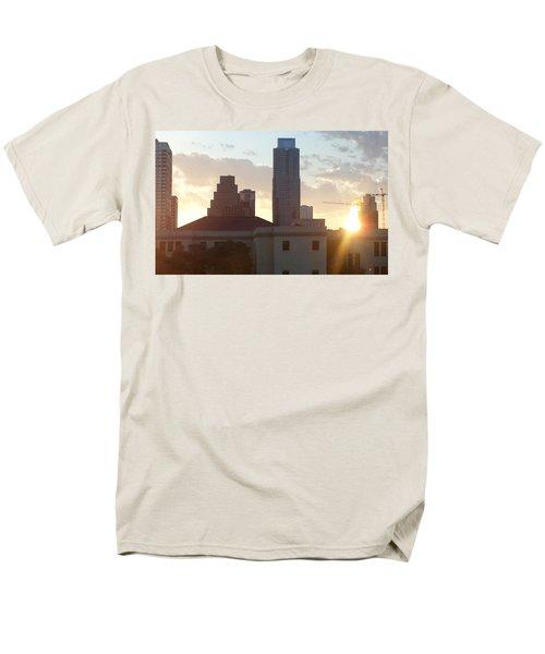 Downtown Austin Men's T-Shirt  (Regular Fit) by Karen J Shine