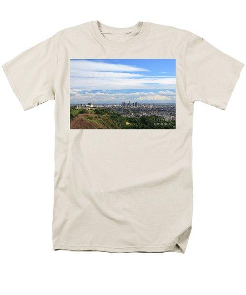 Downtown Los Angeles Men's T-Shirt  (Regular Fit)