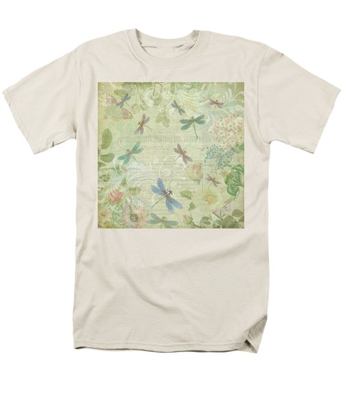 Dragonfly Dream Men's T-Shirt  (Regular Fit) by Peggy Collins