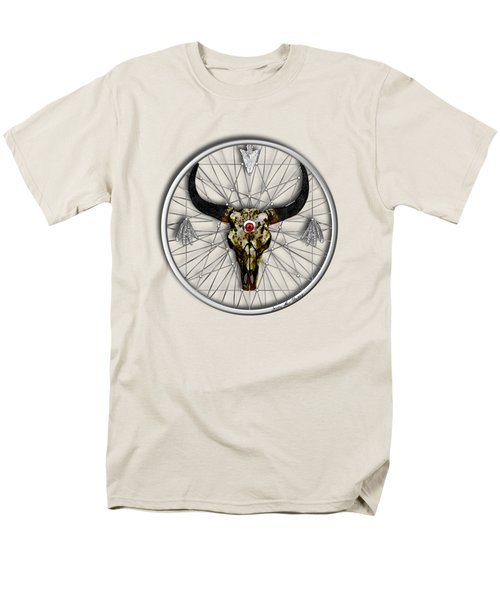 Men's T-Shirt  (Regular Fit) featuring the digital art Dream Guardian by Iowan Stone-Flowers