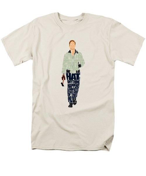 Driver - Ryan Gosling Men's T-Shirt  (Regular Fit) by Ayse Deniz
