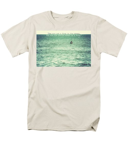 Drop In The Ocean Surfer Vintage Men's T-Shirt  (Regular Fit) by Terry DeLuco