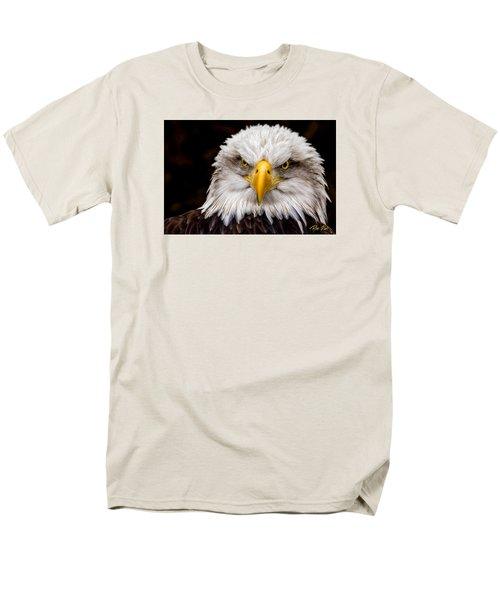 Defiant And Resolute - Bald Eagle Men's T-Shirt  (Regular Fit)