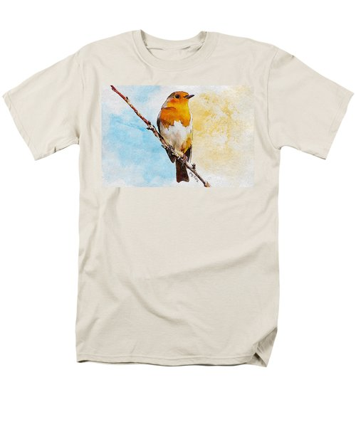 Men's T-Shirt  (Regular Fit) featuring the painting Early Spring by Greg Collins