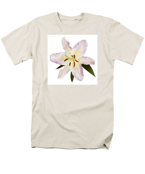 Easter Lilly 1 Men's T-Shirt  (Regular Fit) by Tony Cordoza