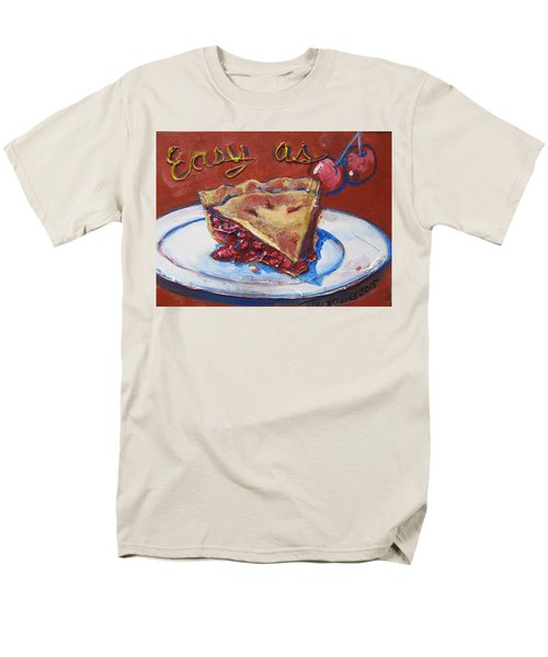 Men's T-Shirt  (Regular Fit) featuring the painting Easy As Pie by Tilly Strauss