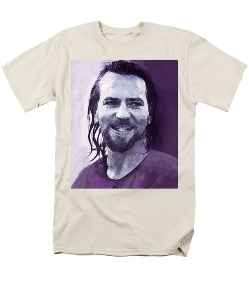 Eddie Vedder Pearl Jam  Men's T-Shirt  (Regular Fit) by Enki Art