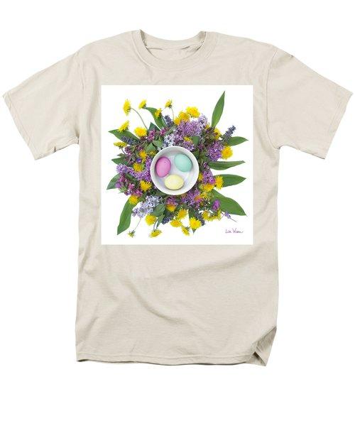 Men's T-Shirt  (Regular Fit) featuring the digital art Eggs In A Bowl by Lise Winne