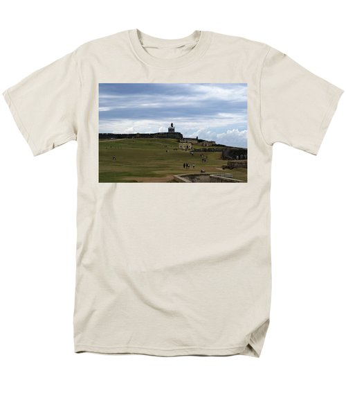 Men's T-Shirt  (Regular Fit) featuring the photograph El Morro by Lois Lepisto