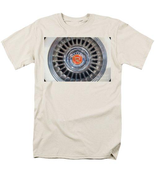 Men's T-Shirt  (Regular Fit) featuring the photograph Eldorado Hubcap by Dennis Hedberg