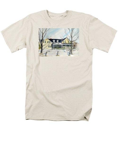 Elmridge Farm House Men's T-Shirt  (Regular Fit) by Jackie Mueller-Jones