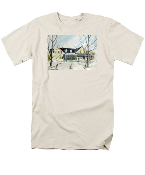 Elmridge Farm House Men's T-Shirt  (Regular Fit)