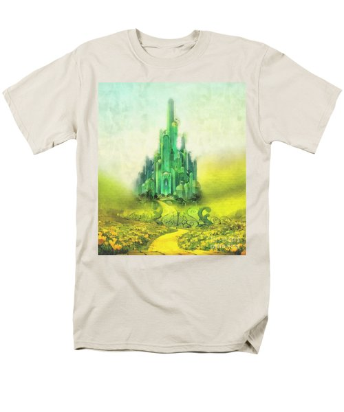 Emerald City Men's T-Shirt  (Regular Fit) by Mo T