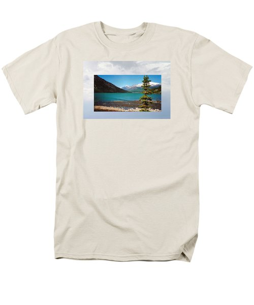 Emerald Lake Chilkoot Trail Alaska Men's T-Shirt  (Regular Fit) by Tina M Wenger