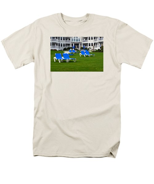 Men's T-Shirt  (Regular Fit) featuring the photograph End Of Season 3 by Richard Ortolano