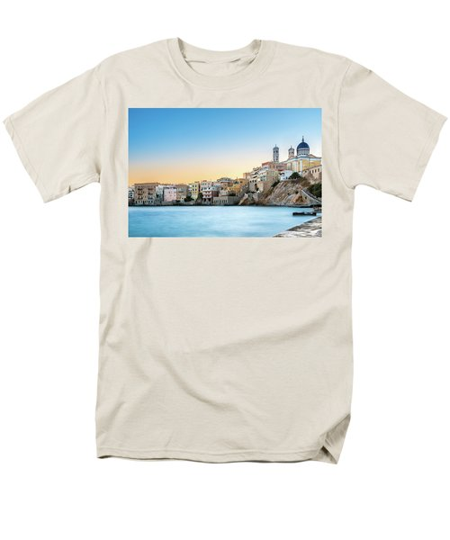 Ermoupoli - Syros / Greece. Men's T-Shirt  (Regular Fit) by Stavros Argyropoulos