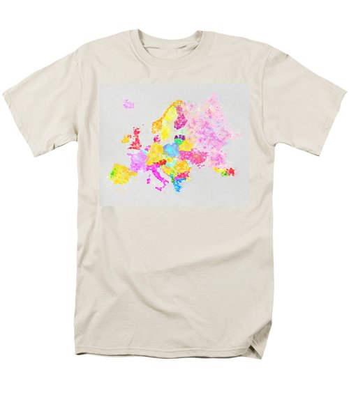 Europe map T-Shirt by Setsiri Silapasuwanchai
