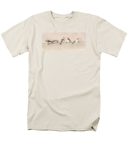 Fairy Martins Men's T-Shirt  (Regular Fit) by Racheal  Christian