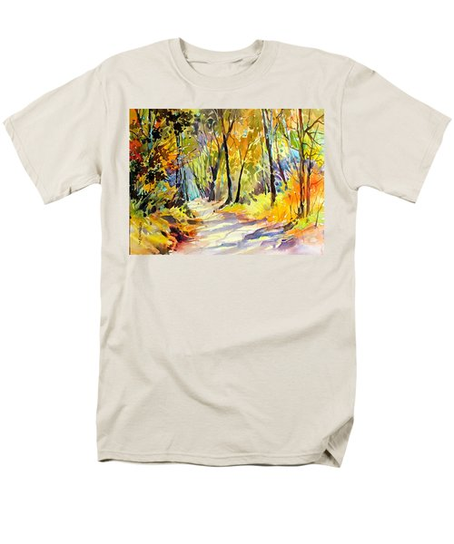 Fall Dazzle, Tennessee Men's T-Shirt  (Regular Fit) by Rae Andrews