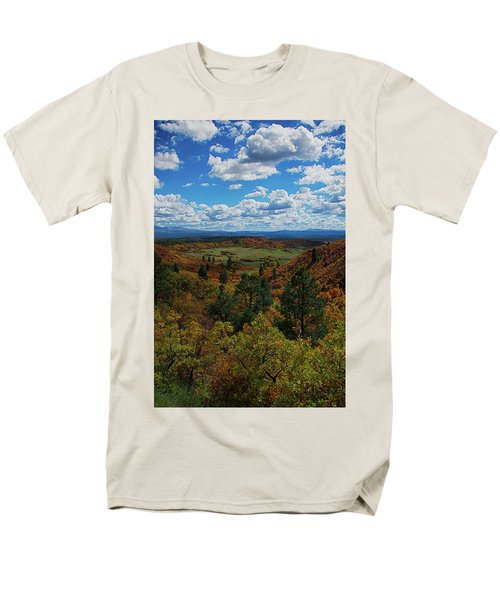 Fall On Four Mile Road Men's T-Shirt  (Regular Fit) by Jason Coward