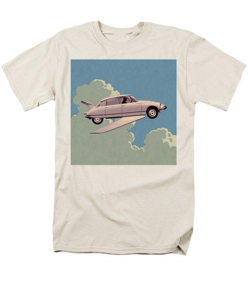 Fantomas 1965 - Right Panel Men's T-Shirt  (Regular Fit) by Udo Linke