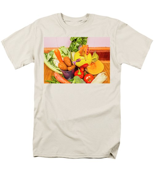 Farm Fresh Produce Men's T-Shirt  (Regular Fit) by Jorgo Photography - Wall Art Gallery