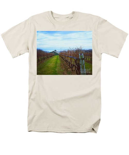 Farm Men's T-Shirt  (Regular Fit) by Raymond Earley