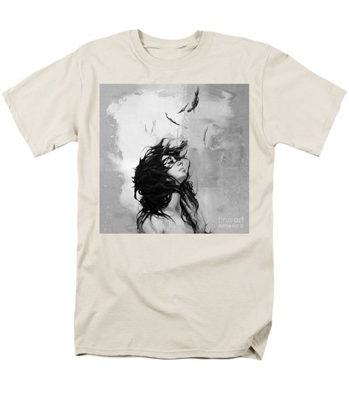 Feathers From Hair Men's T-Shirt  (Regular Fit) by Gull G