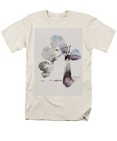 Men's T-Shirt  (Regular Fit) featuring the painting February by Becky Kim