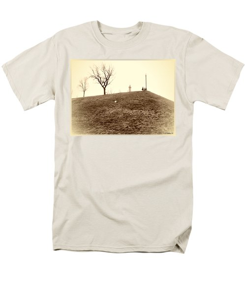 Men's T-Shirt  (Regular Fit) featuring the photograph Federal Hill by Brian Wallace