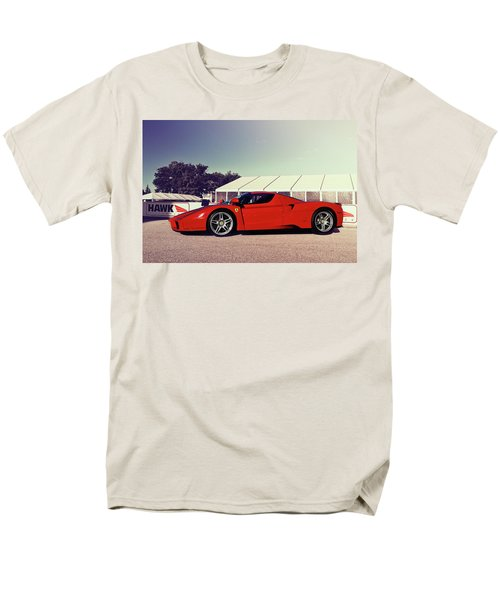 Men's T-Shirt  (Regular Fit) featuring the photograph Ferrari Enzo by Joel Witmeyer