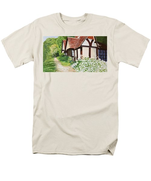 Ferry Cottage Men's T-Shirt  (Regular Fit) by Joanne Perkins