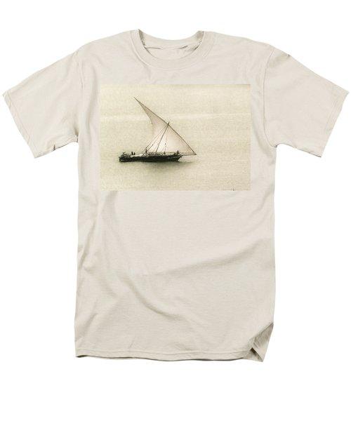 Fishing Dhow Men's T-Shirt  (Regular Fit) by Patrick Kain