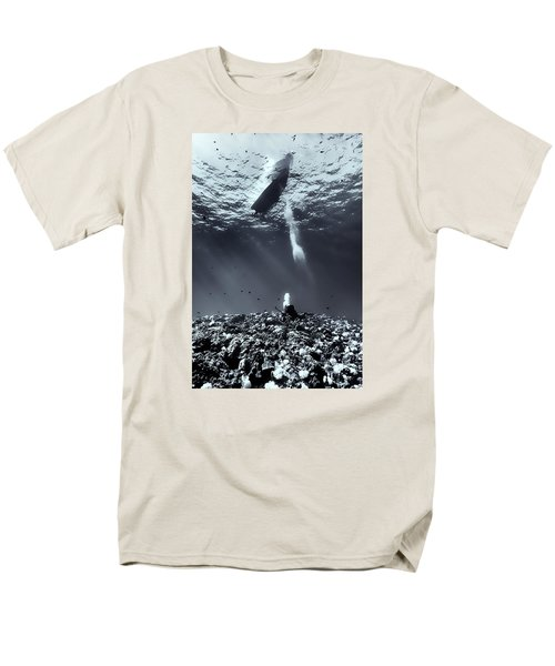 Fla-151028-nd800e-107-bw-selenium Men's T-Shirt  (Regular Fit) by Fernando Lopez Arbarello