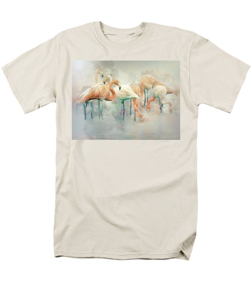 Flamingo Fantasy Men's T-Shirt  (Regular Fit) by Brian Tarr