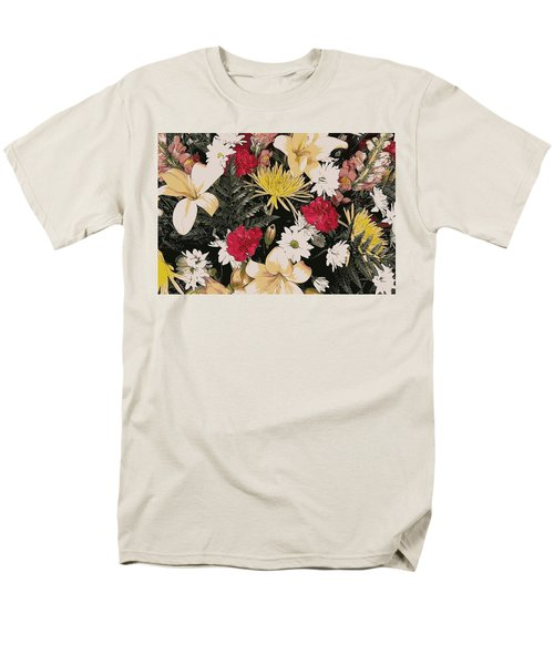 Floral 2 Men's T-Shirt  (Regular Fit)