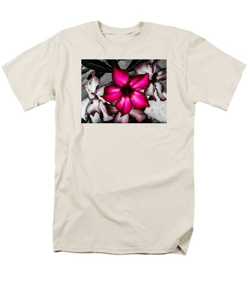 Men's T-Shirt  (Regular Fit) featuring the photograph Flower Dreams by Randy Sylvia
