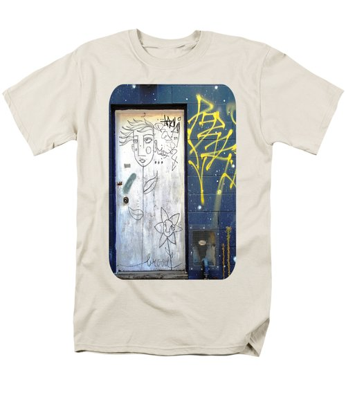 Men's T-Shirt  (Regular Fit) featuring the photograph Flower Faces by Ethna Gillespie